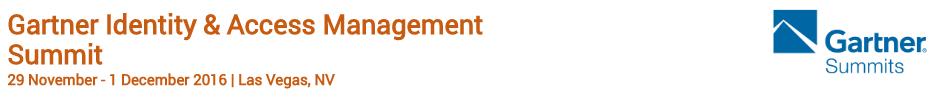 inWebo at Gartner Identity Access Management
